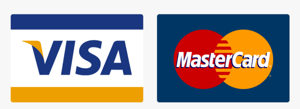 Visa,Discover,Mastercard, & Paypal